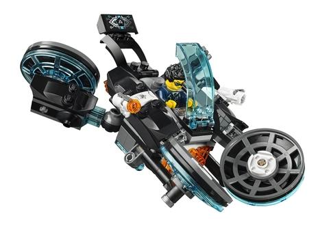 Bộ đồ chơi Lego Ultra Agents 70167- Cướp Vàng Tẩu Thoát giúp bé phát triển kỹ năng toàn diện