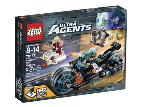 Hình ảnh hộp đựng sản phẩm Lego Ultra Agents 70167- Cướp Vàng Tẩu Thoát