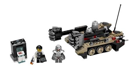 Lego Utra Agents 70161 - Cuộc đột nhập của Tremor Track - toàn bộ các chi tiết