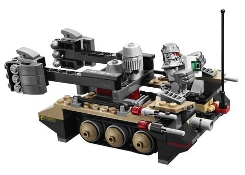 Lego Utra Agents 70161 - Cuộc đột nhập của Tremor Track - cỗ xe kiểu mới
