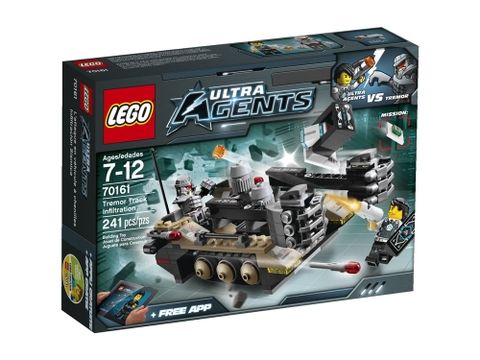 Lego Utra Agents 70161 - Cuộc đột nhập của Tremor Track - ảnh bìa sản phẩm