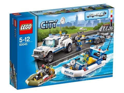 Hình ảnh bộ ghép hình Lego City 60045 - Đội Cảnh Sát Tuần Tra
