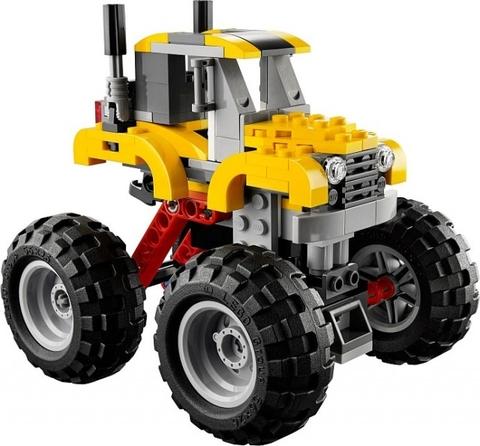 LEGO Creator  31022 với thiết kế nổi bật, màu sắc mạnh mẽ và phong cách