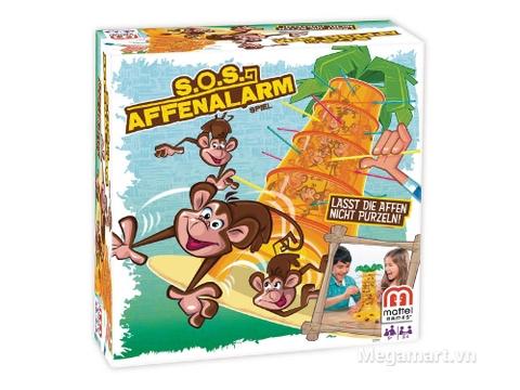Hình ảnh vỏ hộp bộ Mattel Games Rút khỉ