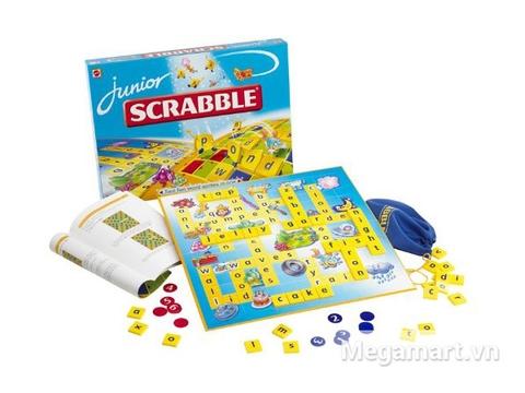 Thiết kế ấn tượng của Mattel Games Scrabble tiếng Anh Junior