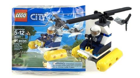 Các chi tiết xuất hiện trong bộ đồ chơi Lego City 30311 - Swamp Police