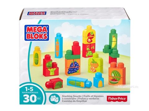 Mega Bloks Xếp khối trái cây - Hình ảnh vỏ hộp