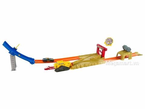 Hot Wheels San phẳng vụ nổ bom - toàn cảnh chi tiết bộ đồ chơi
