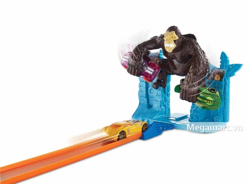 Hot Wheels Trốn thoát khỏi Gorrila - bộ đồ chơi mới