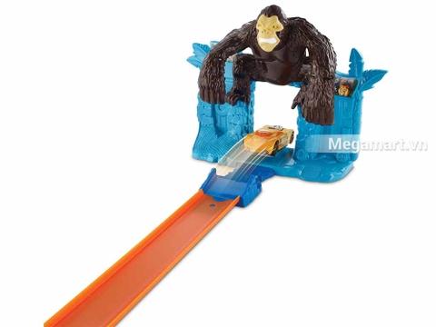 Hot Wheels Trốn thoát khỏi Gorrila - ác thú hung dữ, khổng lồ