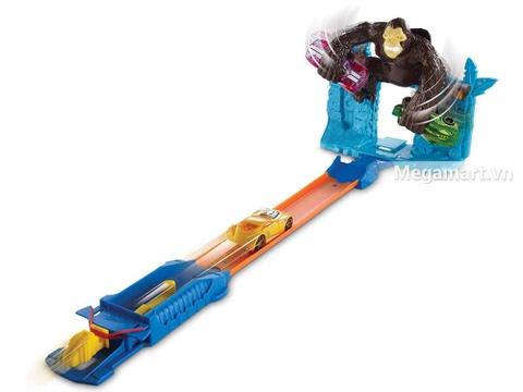 Hot Wheels Trốn thoát khỏi Gorrila - đồ chơi cho bé yêu xe