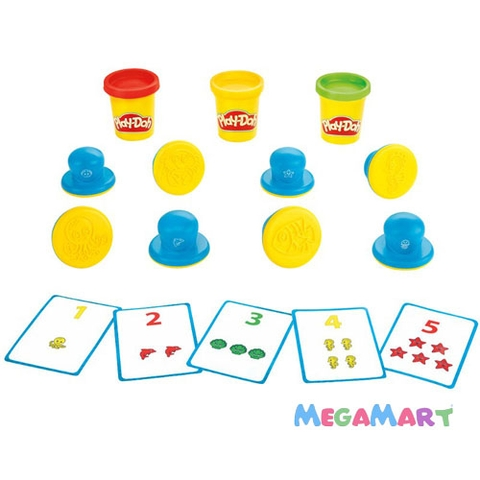 Play-Doh B3406 - Khuôn chữ số vui nhộn - các chi tiết trong sản phẩm