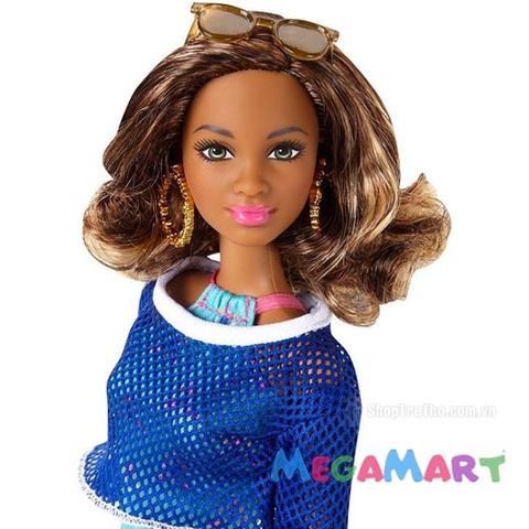 Barbie phong cách nghỉ mát - Xanh - gương mặt ấn tượng