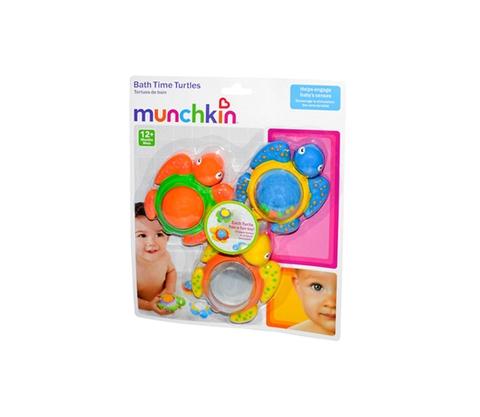 Đồ chơi Munchkin Bộ 3 rùa nối đuôi dành cho bé từ 12 tháng tuổi trở lên