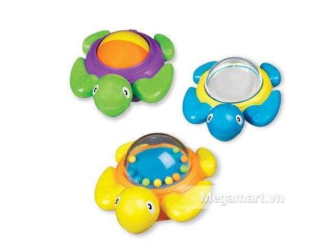Bộ 3 chú rùa đáng yêu trong bộ đồ chơi Munchkin Bộ 3 rùa nối đuôi