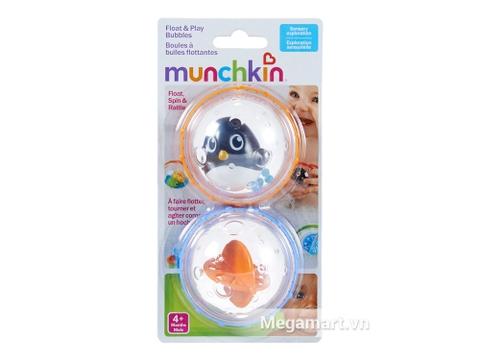 Munchkin Bong bóng xúc xắc dành cho bé từ 4 tháng tuổi trở lên