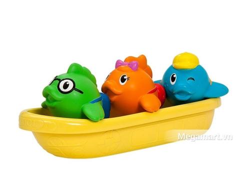 Munchkin Cá bơi thuyền giúp kích thích giác quan của trẻ nhỏ