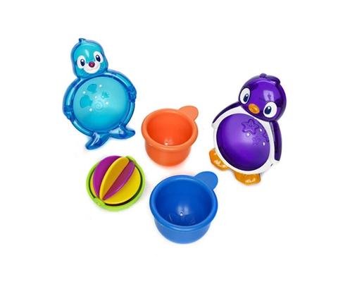 Bộ đồ chơi Munchkin Chim cánh cụt 5 món dễ thương