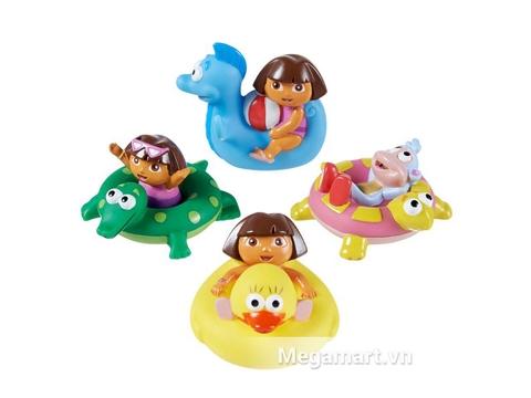 Munchkin Đồ chơi phun nước hình Dora dễ thương cho bé
