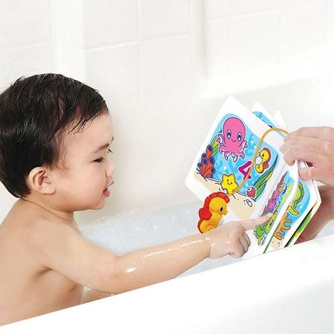Munchkin Sách chơi trong nhà tắm cho bé vừa chơi vừa học số
