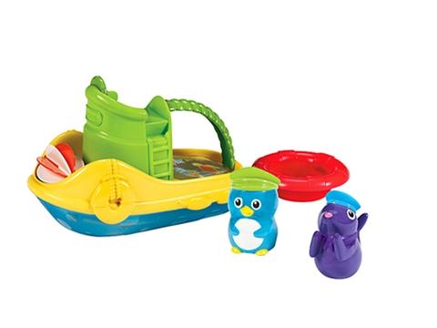 Đồ chơi nhà tắm Munchkin Tàu kéo thúc đẩy tư duy sáng tạo cho bé