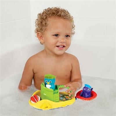 Đồ chơi Munchkin Tàu kéo cùng bé vừa tắm vừa chơi vui vẻ