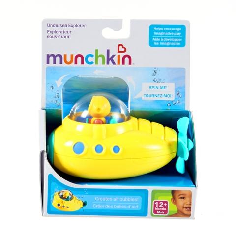 Vỏ hộp đựng bộ đồ chơi nhà tắm Munchkin Tàu ngầm thám hiểm