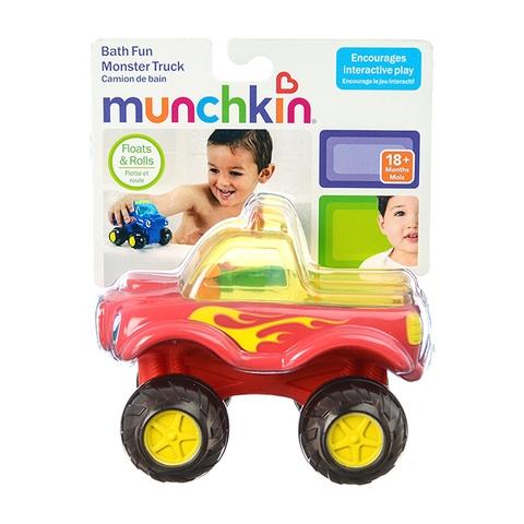 Munchkin Xe tải nổi trên nước phù hợp cho bé trai từ 18 tháng tuổi vui chơi
