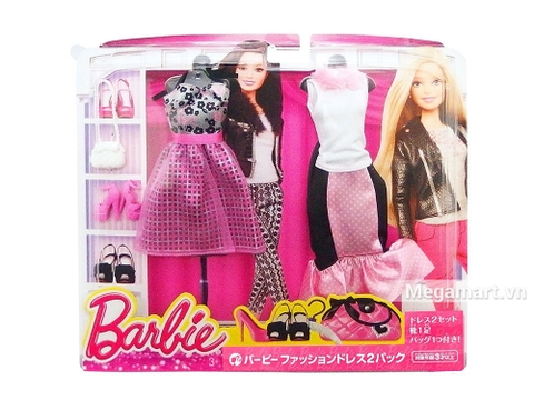 Barbie Bộ sưu tập thời trang váy hồng dạ hội - Ảnh ngoài của sản phẩm