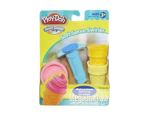 Vỏ hộp bộ Play-Doh 49654 - Bộ làm kem mini