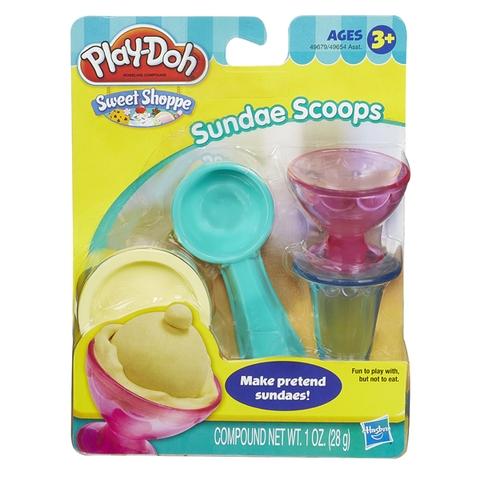Đồ chơi Play-Doh 49654 - Bộ làm kem mini làm từ chất liệu tuyệt đối an toàn