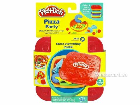 Play-Doh 20609 - Bữa tiệc Pizza - Hình ảnh vỏ hộp