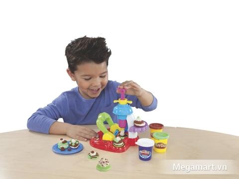 Bé học được gì từ bộ đồ chơi đất nặn giá rẻ này