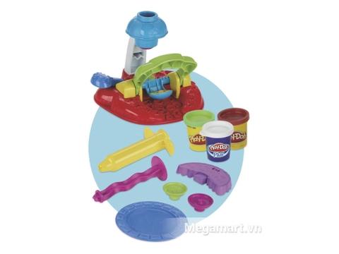 Các chi tiết có trong bộ đất nặn Play-Doh A0320