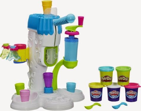 Play-Doh A2104 - Máy làm kem hoàn hảo - các chi tiết có trong bộ đồ chơi