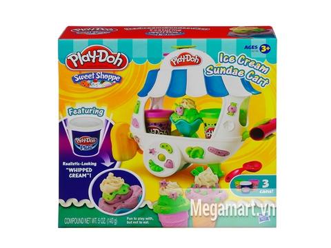 Thông tin chung bộ Play-Doh A2106 - Xe kem mát lạnh
