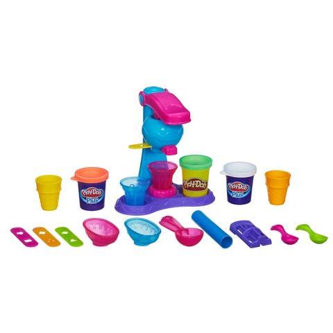 Bồ đồ chơi đất nặn Play-Doh A4896 - Máy làm kem đơn giản với các chi tiết làm bằng chất liệu tuyệt đối an toàn