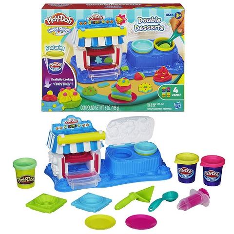 Trọn bộ các chi tiết  trong bộ đồ chơi Play-Doh A5013 - Tráng miệng ngọt ngào