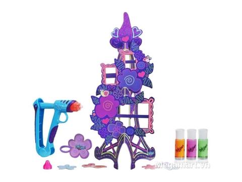 Trọn bộ các chi tiết có trong Play-Doh A7191 - Khung ảnh tháp hoa