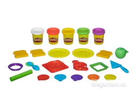Play-Doh A7659 - Bữa trưa vui vẻ - toàn bộ các chi tiết