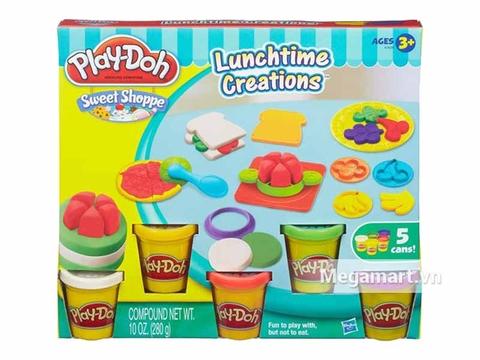 Play-Doh A7659 - Bữa trưa vui vẻ - Hình ảnh vỏ hộp