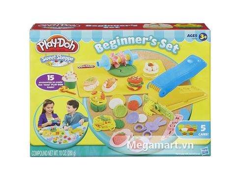 Hình ảnh hộp đựng Play-Doh A9800 - Bộ thức ăn đơn giản