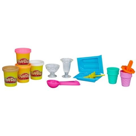 Play-Doh A9801 - Bộ làm kem sắc màu với các chi tiết xinh xắn