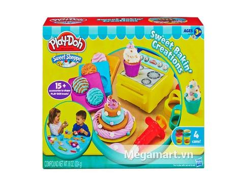 Hình ảnh vỏ ngoài của Play-Doh A9802 - Bánh nướng ngọt ngào