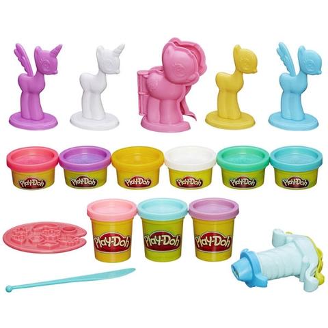 Các chi tiết có trong bộ Play-Doh B0009 - Tạo hình Pony