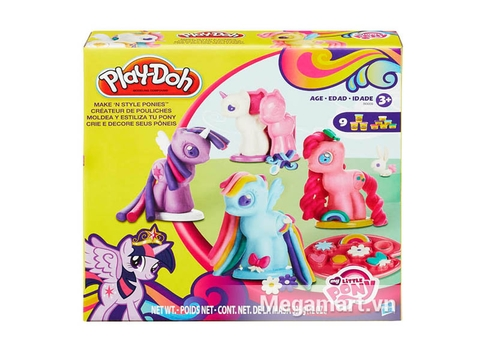 Hình ảnh vỏ ngoài của Play-Doh B0009 - Tạo hình Pony