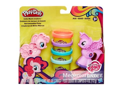Vỏ hộp đựng đồ chơi đất nặn Play-Doh B0010 - Pony bé nhỏ