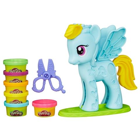 Trọn bộ các chi tiết có trong bộ Play-Doh B0011 - Trang trí Pony