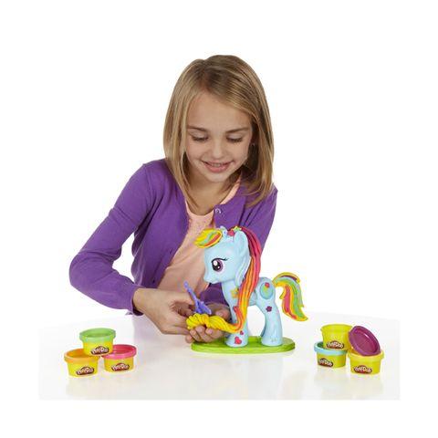 Bộ đồ chơi Play-Doh B0011 - Trang trí Pony dành cho bé từ 3 tuổi trở lên