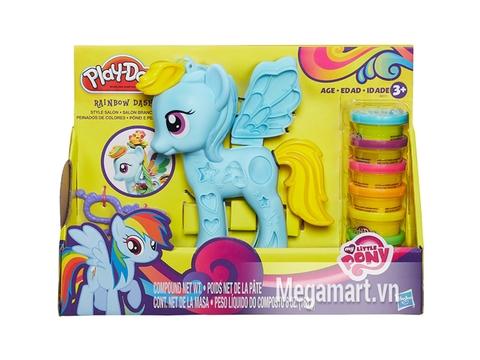 Hình ảnh vỏ ngoài của Play-Doh B0011 - Trang trí Pony